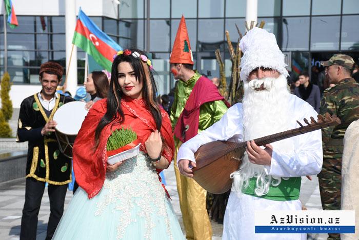 """""""ASAN Həyat"""" Bahar festivalı Kürdəmirdə - FOTOLAR"""