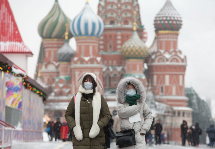 Rusiyada koronavirusa yoluxanların sayı artır