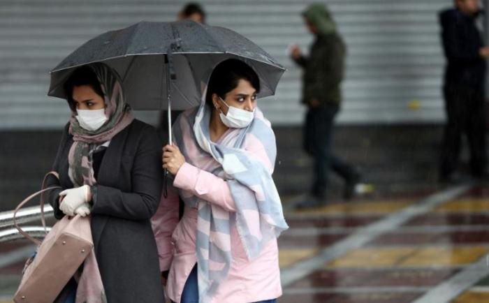 İranda koronavirusa yoluxanların sayı -