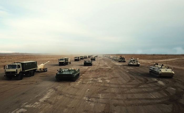 Azerbaijani army launches large-scale command-staff exercises -  VIDEO