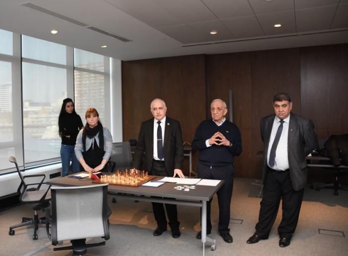 Şahmat üzrə Azərbaycan çempionatının püşkü atılıb