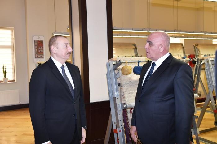 """""""Azərxalça""""nın Tovuz filialı ilə tanış olub"""