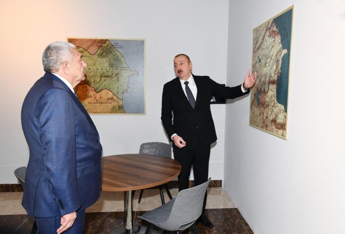 """""""Xəritə asmısınız, bununla iş düzəlir?"""" - Prezidentdən icra başçısına irad"""