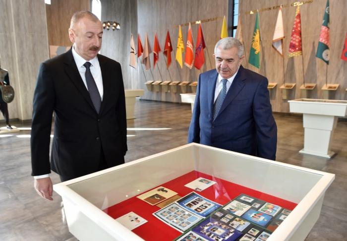 Tovuzda Dövlət Rəmzləri Muzeyinin açılışı olub - FOTOLAR (YENİLƏNİB)