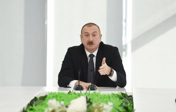 """""""Milli qürurumuz, ləyaqətimiz hər şeydən üstündür"""" - İlham Əliyev"""