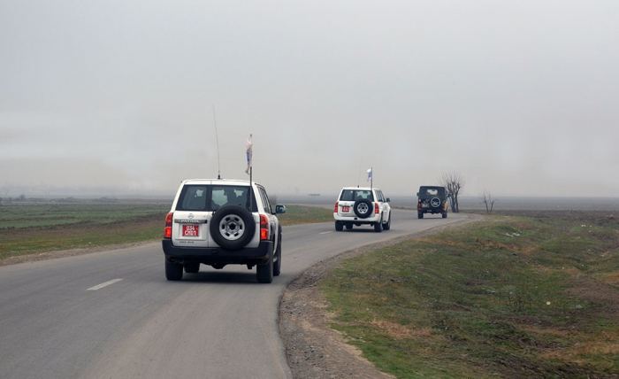 OSCE monitoring on contact line between Azerbaijani, Armenian troops ends without incident