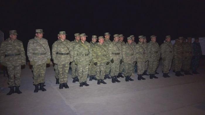 Naxçıvan Qarnizonu Qoşunlarında toplantı keçirilib