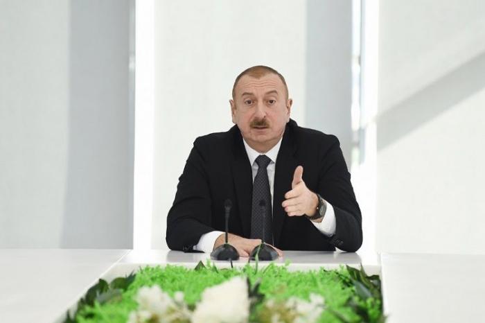 """""""Korrupsiya və rüşvətxorluqla bağlı tədbirlər sistem xarakteri daşıyır"""" - Prezident"""
