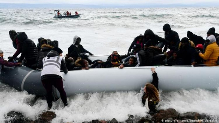 Turkish coast guard says stopped migrants from entering Greece at Erdogan