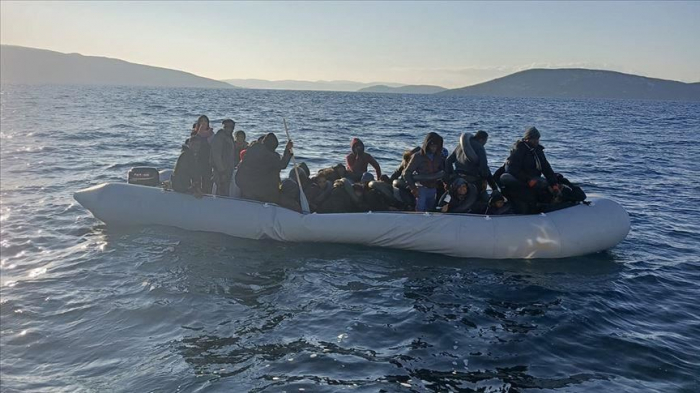 Turkey rescues 60 migrants from boats off Aegean coast