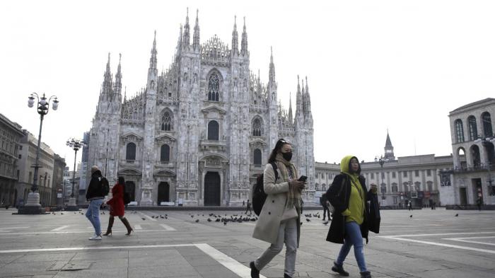 Coronavirus death toll in Italy