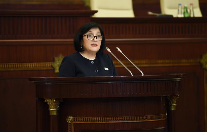 Sahibə Qafarovanın spiker kimi ilk çıxışı