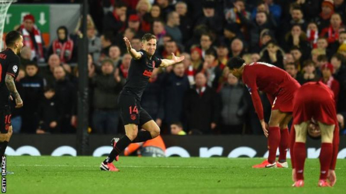 Holders Liverpool out of Champions League