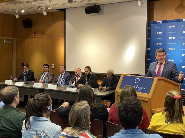 Azerbaijan's multiculturalism discussed at U.S. university