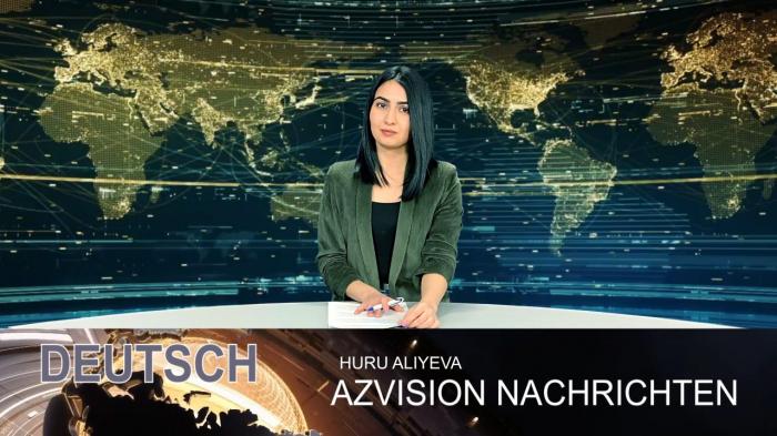 AzVision TV:  Die wichtigsten Videonachrichten des Tages auf Deutsch (13. März)  - VIDEO