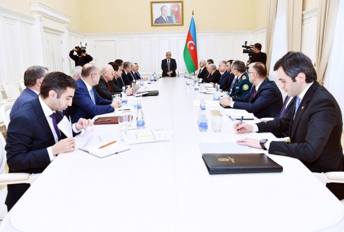 Operational Headquarters under Azerbaijan's Cabinet of Ministers holds discussions on coronavirus