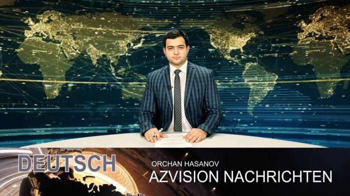 AzVision TV publica nueva edición de noticias en alemán para el 17 de marzo-  Video