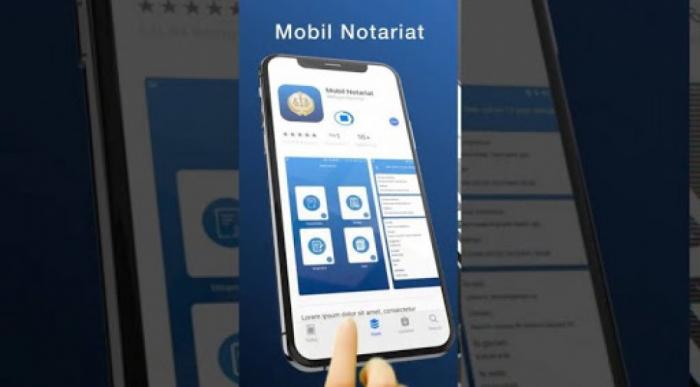"""""""Mobil notariat""""ın yeni funksiyası istifadəyə verilir"""