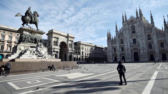 Coronavirus lockdown leaves major European cities deserted -   NO COMMENT