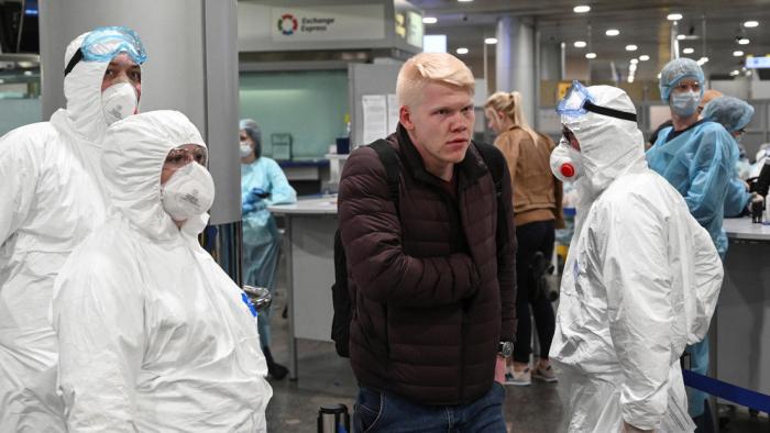 Asciende a 199 el número de infectados con coronavirus en Rusia
