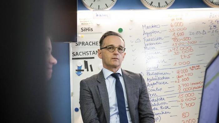 Rückholaktion stellt Maas vor Probleme