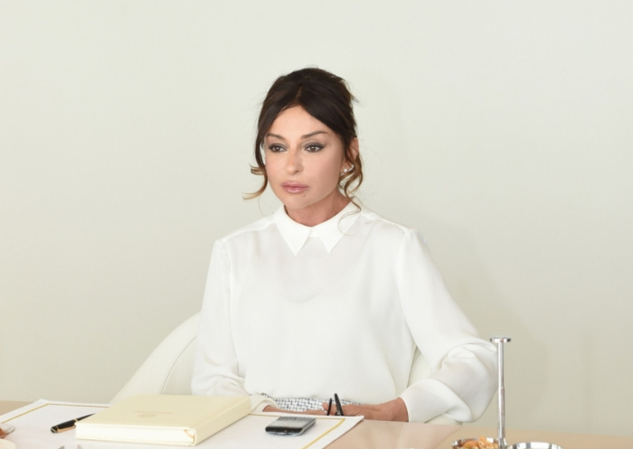 First Vice-President Mehriban Aliyeva donates her annual salary to Fund to Support Fight Against Coronavirus