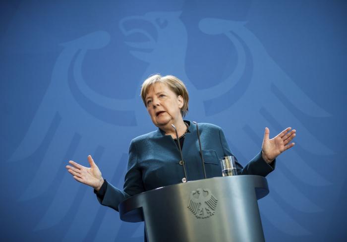 Merkel, en cuarentena tras haber estado en contacto con un médico que ha dado positivo de coronavirus