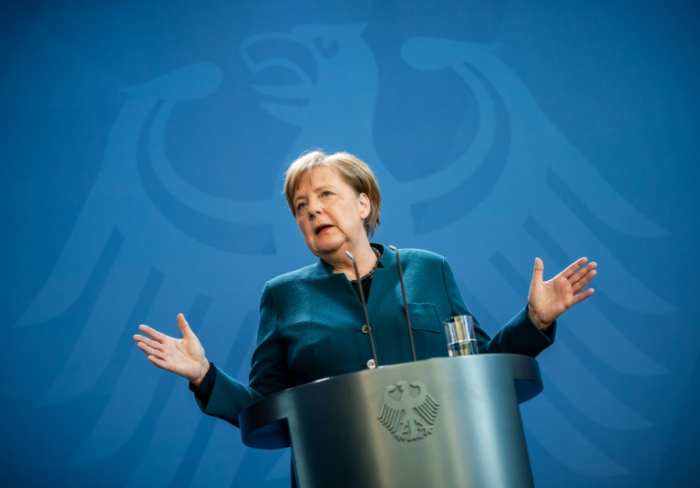 Merkel leitet Kabinettssitzung zu Corona-Maßnahmen von zu Hause aus