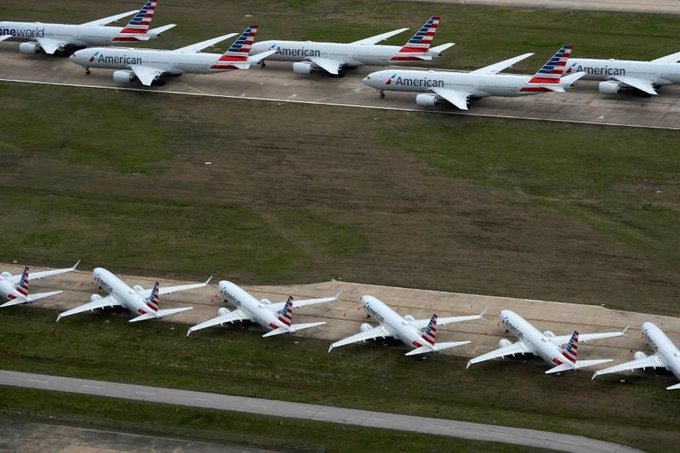 Parking pain: Airlines, airports hunt for storage space as pandemic idles planes