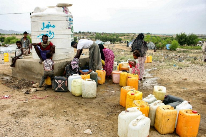 Hand-washing: a luxury millions of Yemenis can