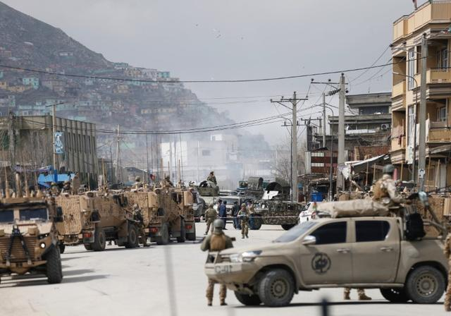 Gunmen, bombers attack Sikh religious complex in Afghancapital