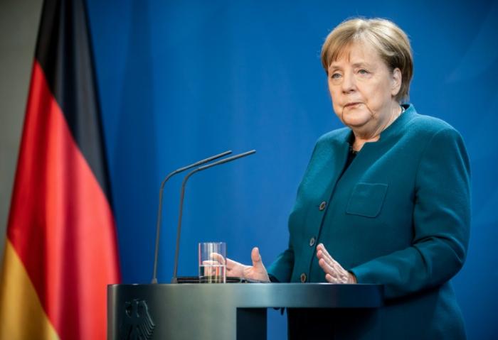 Merkel hält Zeitpunkt für Beschlüsse über Rückkehr zum Alltag für zu früh