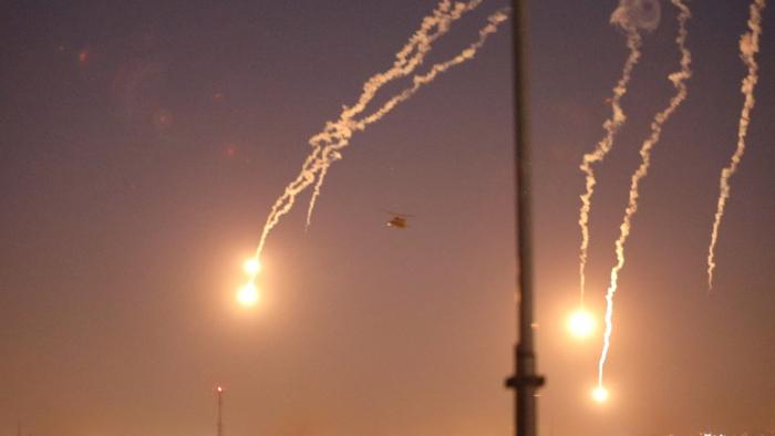 Reportan la caída de un misil en la Zona Verde de Bagdad
