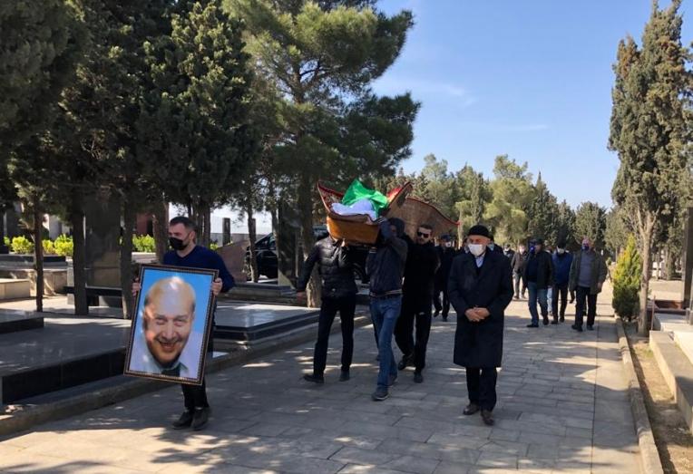 Rauf Babayev son mənzilə yola salındı