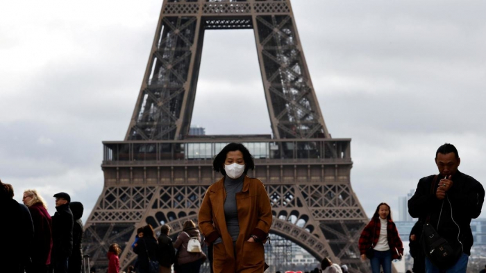 France records 299 new coronavirus deaths in a day as fatalities climb to 1,995