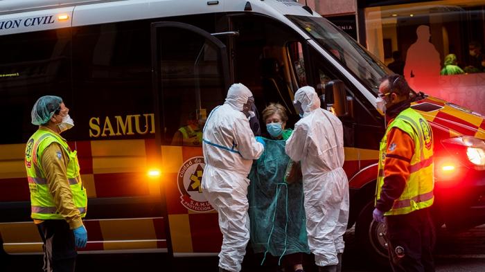 Spain toughens lockdown as toll nears 5,700