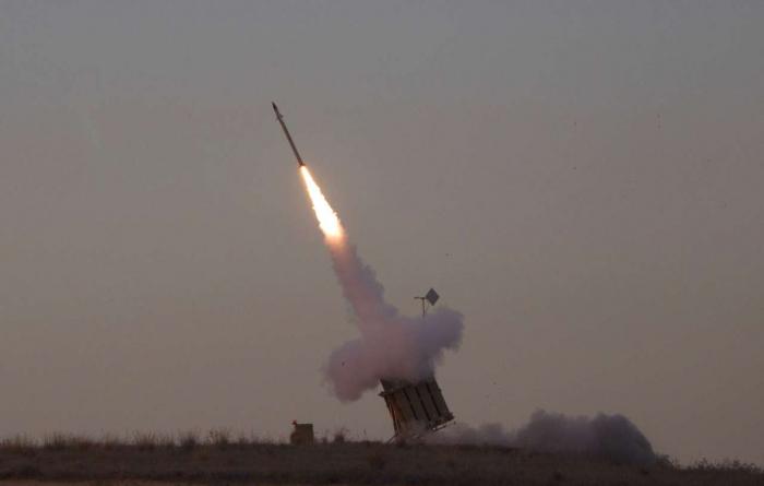 Saudi air defense forces intercept two missiles above capital Riyadh