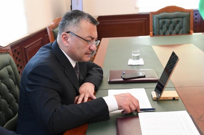 Dövlət Komitəsinin sədri videoqəbul keçirdi