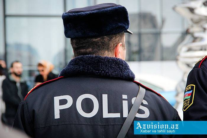 Polis gücləndirilmiş iş rejiminə keçir