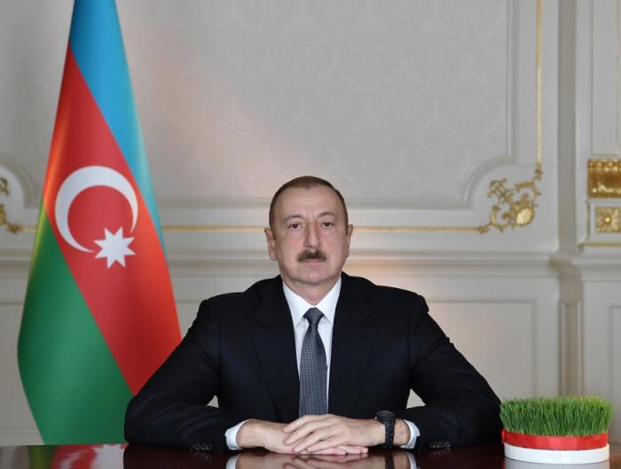 President Ilham Aliyev congratulates Azerbaijani people on Novruz holiday