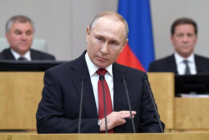 """Rusiya Prezidenti: """"Bütün dünya təhdid altındadır"""""""