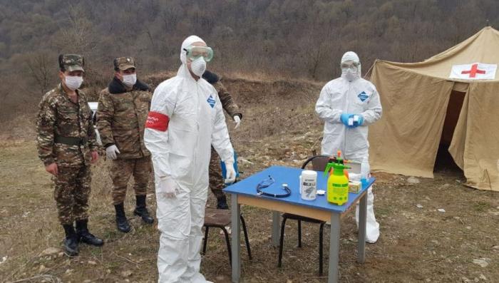 Ermənistan ordusunda koronavirusa yoluxanların sayı artdı