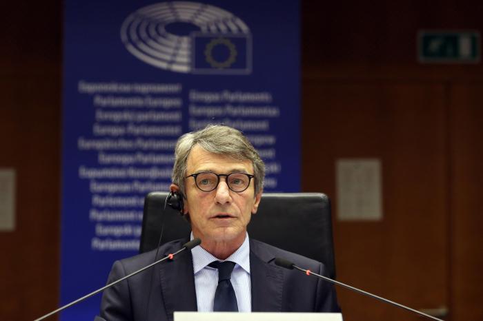 Head of EU Parliament Sassoli enters self-quarantine as precaution