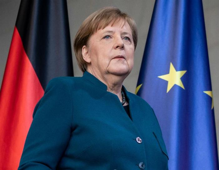 Angela Merkel karantinə alındı
