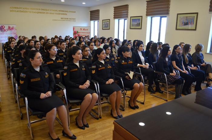 Beynəlxalq Qadınlar Günü HDQ-də qeyd edilib - VİDEO