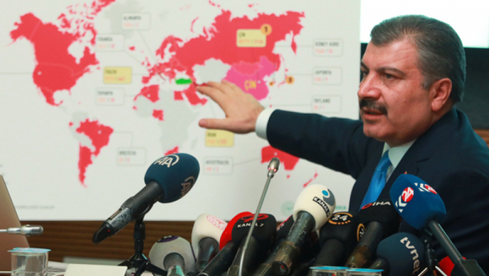 Türkiyədə 168 nəfər koronavirusdan ölüb
