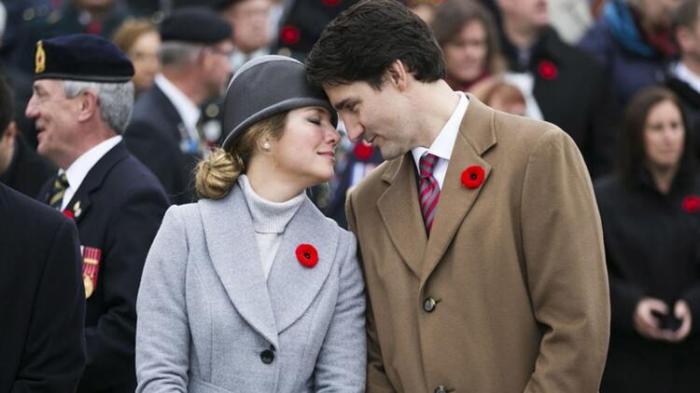 Kanada Baş Nazirinin xanımı karantinə alındı