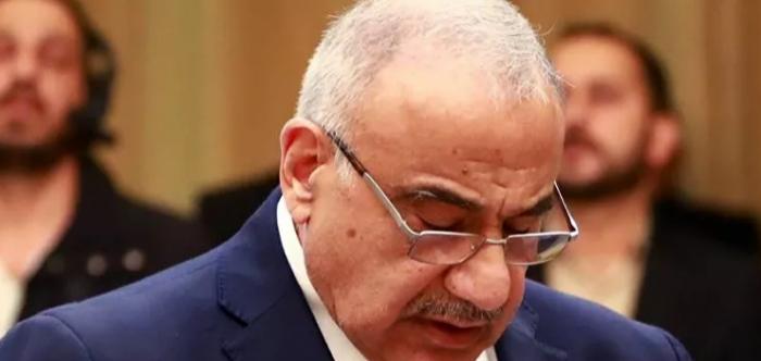 """عبد المهدي يتحدث عن رصد """"طيران غير مرخص"""" فوق مواقع عسكرية عراقية"""