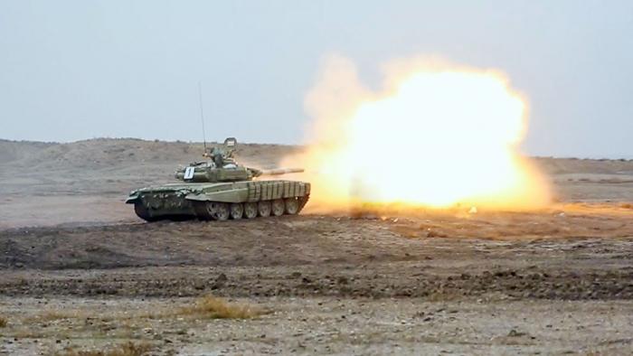Ən yaxşı tank və zirehli döyüş maşını heyəti - VİDEO