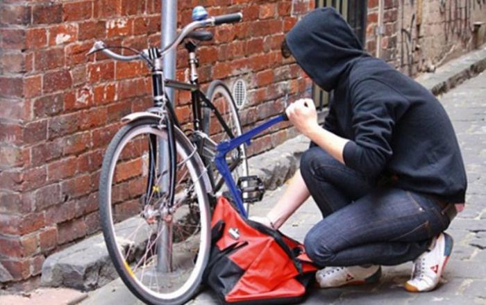 Bakıda velosiped oğrusu saxlanıldı